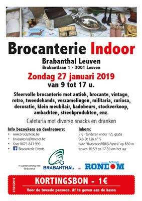 Brocanterie Indoor Leuven (Winter editie)
