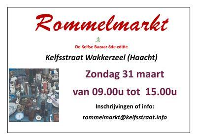 rommelmarkten zondag