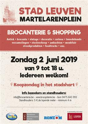 Brocanterie + Shopping Leuven