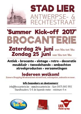 "2-daagse Brocanterie ""Summer Kick-off"""