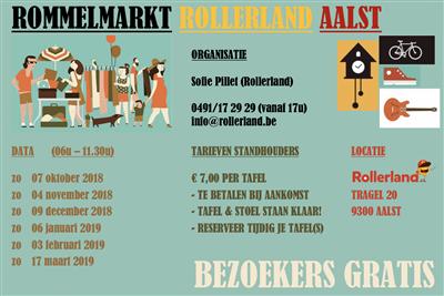 rommelmarkt 20 maart
