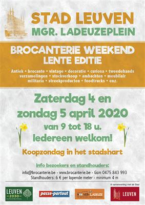 BROCANTERIE WEEKEND (LENTE EDITIE)